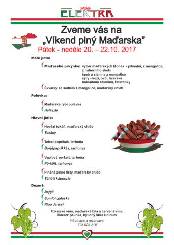 Maďarský víkend